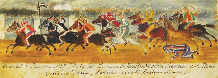 Carriera 2 Luglio 1827
